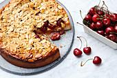Florentine cherry cake