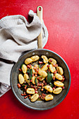Gnocchi with sage and lardons