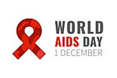 World AIDS awareness day, illustration