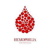 Haemophilia, conceptual illustration