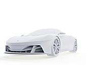 Sports car, illustration