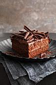 A Paris chocolate cake