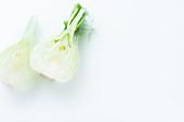 Fresh fennel, halved