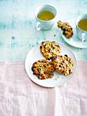 Haferflocken-Haselnuss-Kekse