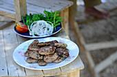 Turkish lamb köfte