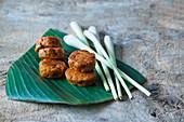 Asian patty with lemongrass