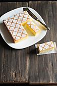 Hot milk sponge cake (Saftiger Biskuitkuchen vom Blech)