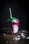 Grenadine and Tonic Water Mocktail