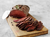 Tjälknöl - Swedish roast moose