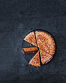 Bakewell Tart, angeschnitten