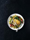 One-Pot-Huhn mit Bulgur und Gemüse (Low Fat)