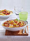 Pasta with boletus bolognese