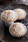 Coconut foam tartlets