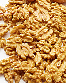 Walnuts without shells (filling the picture)