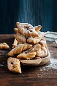 Klenät (deep-fried cardamom pastries, Denmark)