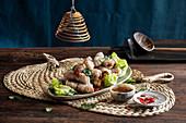 Cha gio (rie paper rolls, Vietnam)