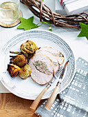 Turkey with Pork and Fennel Stuffing