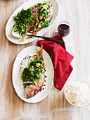 Chinese-Style Whole Baby Snapper