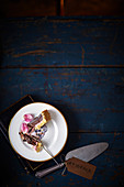 Death-by-chocolate tart for Halloween
