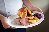 Roastbeef and Yorkshire Pudding