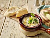 Smoked Haddock and Lentil Chowder