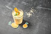 Mangosmoothie im Glas