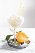 Lemon sorbetini