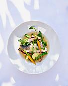 Barschfilet mit Gemüse