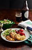 Dublin Boxty - Irish potato pancakes with a twist