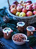 Weihnachtliches Apfelchutney