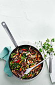 Thai Seared Beef And Vegetable StirFry