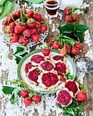 Erdbeerplätzchen