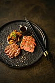 Beef fillet with mushrooms (Asia)