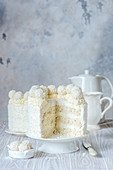 Coconut angel food cake