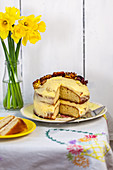 Lemon cake for Easter