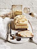 White chocolate, hazelnut and nutmeg tiramisu
