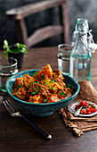 Beef And Potato Vindaloo with Chilli (India)