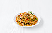 Thai Red Curry Courgetti Noodles