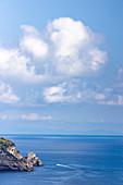 A view of the sea, Amalfi Coast, Campania, Italy
