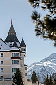 Switzerland, Engadin, Pontresina: Hotel Walther