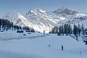 Switzerland, Grisons, Davos: The Sertig-Valley and Sertig-village