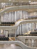 Large hall in Elbphilharmonie, Hamburg, Germany, Europe