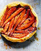 Süßes Karotten-Tatin