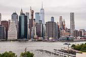 A view of Manhattan, New York City, USA