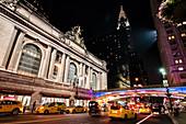 Blick vom Grand Central Station zum Chrysler Building, Manhattan, New York City, USA