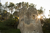 A ruined castle, Eygalieres, Provence, France