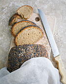 A seeded loaf