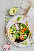 Healthy Poke bowl