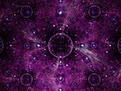 Sphere, fractal illustration