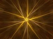 Star, abstract illustration